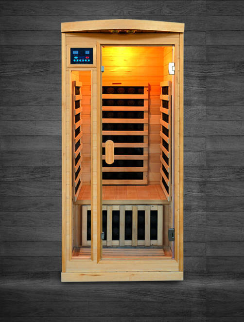 "Acappella Himalayan Salt Cave Infrared Sauna Ultra Low EMF - 36x36x75"" (DISPLAY UNIT)"