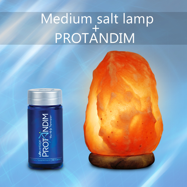 Protandim® and Medium Salt Lamp Wellness Pack