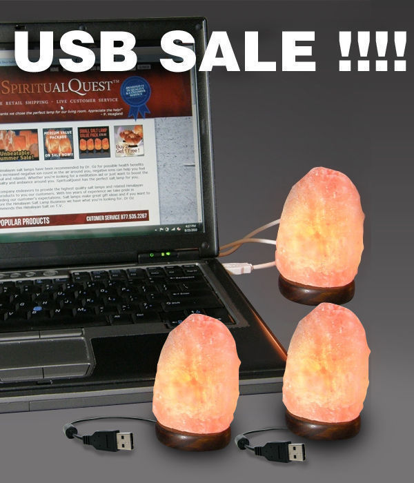 USB Salt Lamp Package Deal