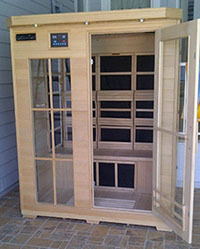 Customer Photo of Himalayan Salt Cave Infrared Sauna