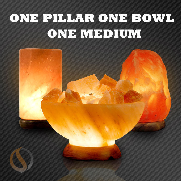 Spiritualquest Salt Lamps : Pulsar Large Himalayan Salt lamp 8-10 9-10lbs