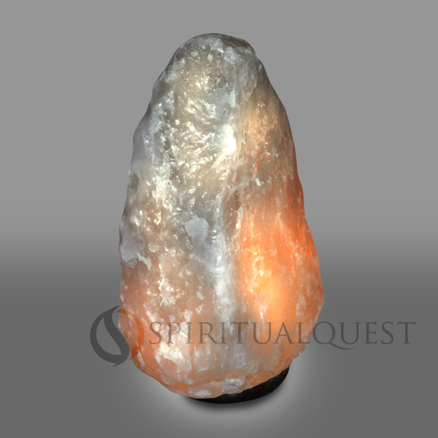 Himalayan Salt Lamps White : Huge Salt Lamps : Spiritual Quest Salt Lamps - Retail and Wholesale