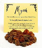 Myrrh Crystaline Resin Incense