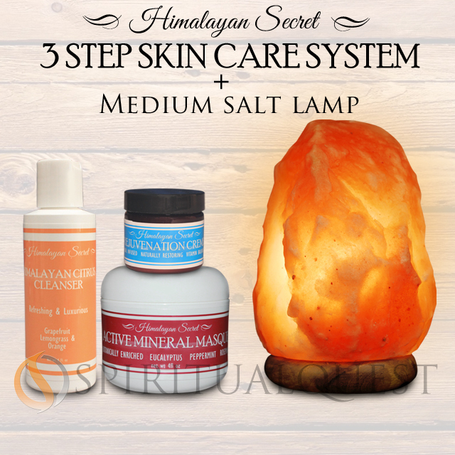 Himalayan Essence 3 step system and Medium Lamp !