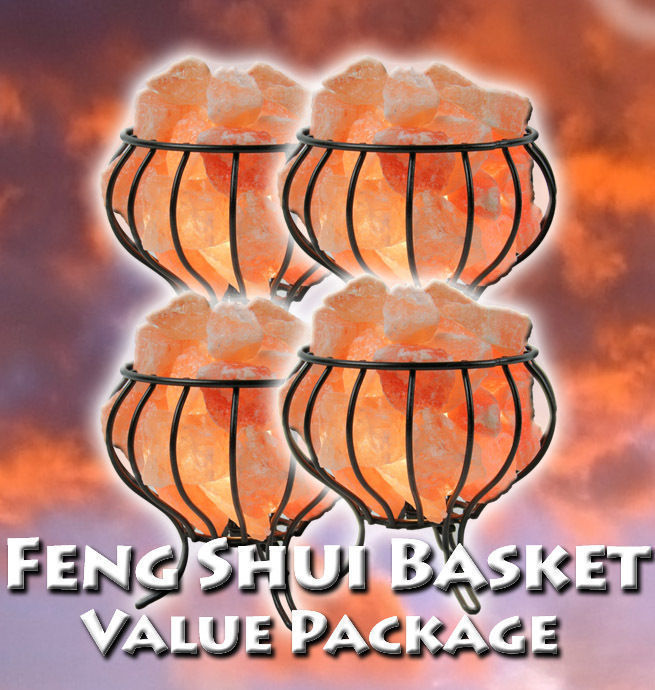 Feng Shui Basket Value Package! (Set of Four)