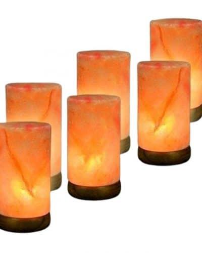 salt lamp pillar himalayan cylinder