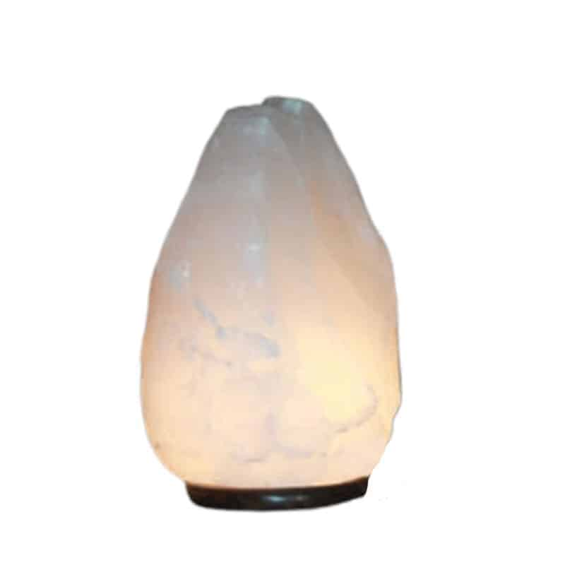 huge white salt lamp rare size 54-70 lbs