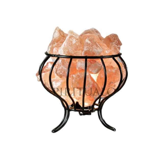 Feng Shui Salt Lamp Basket