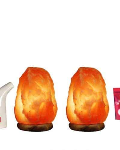 Himalayan Salt Pipe with Himalayan Salt lamps