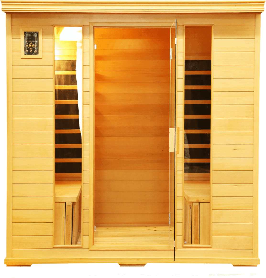 Chorus Infrared Himalayan Sauna Salt Cave (4 Person) U2013 71x48x74u2033