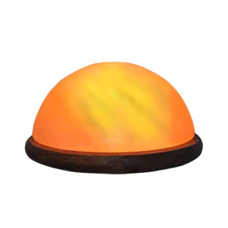 dome salt lamp for foot detox