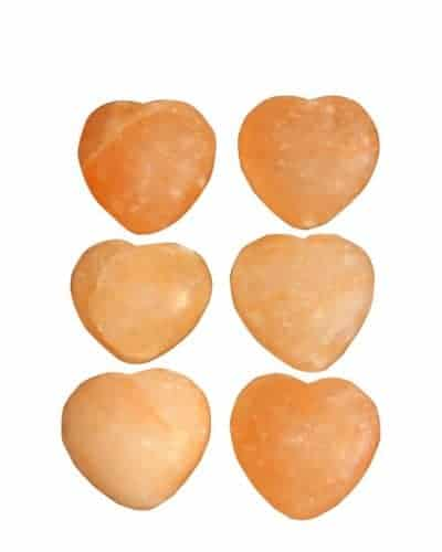 Himalayan Massage Stones Heart Shapped by Spiritualquest