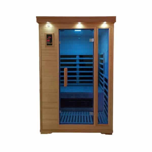 Duet 2 Person Infrared Himalayan Salt Cave Sauna