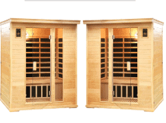 sauna spa pack 2 of the 2 person saunas