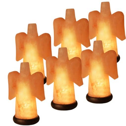 angel salt lamps by spiritualquest only the very best Himlayan