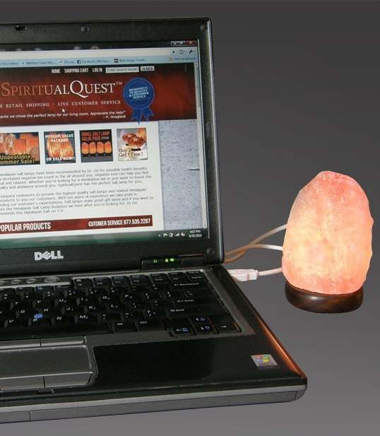 USB MINI Himalayan Salt Lamp/Night Light