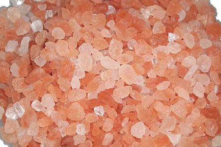 Granulated Himalayan pink salt bulk 55 lbs 2-5 mm size
