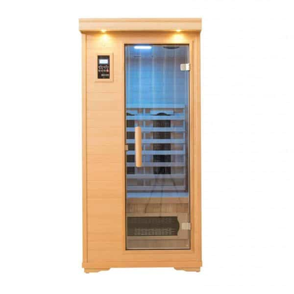 Executive One Person Infrared Salt Cave Sauna – Ultra Low EMF