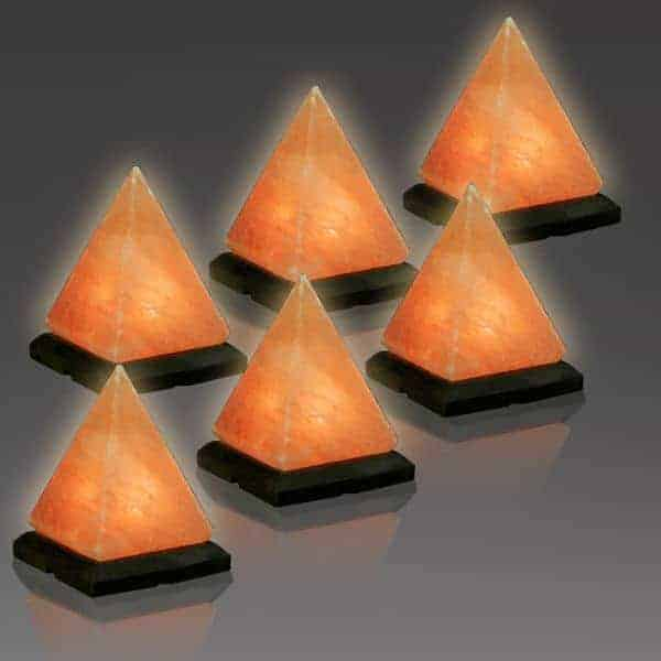 Cleopatra Pyramid Salt Lighting