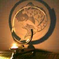 The Koi Projection Candle Holder