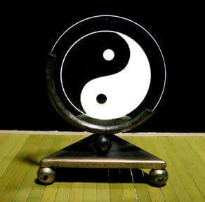 Yin Yang Projection Candle Holder
