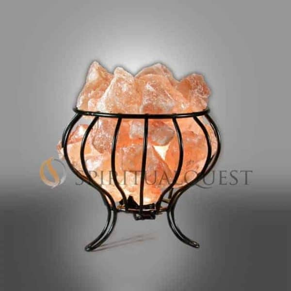 Feng Shui Himalayan Salt Lamp Basket
