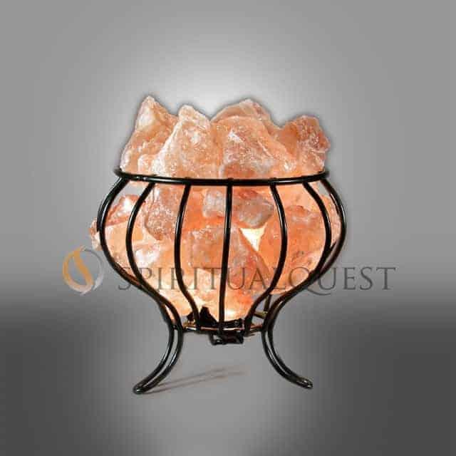 Feng Shui Basket Himalayan Salt basket