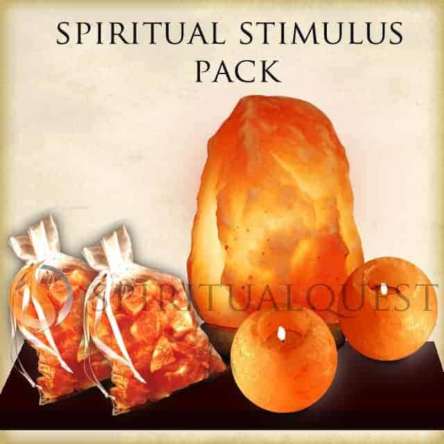 Salt Lamps Spiritual : Spiritual Stimulus Pack Salt Lamp Package.!, Spiritual Quest