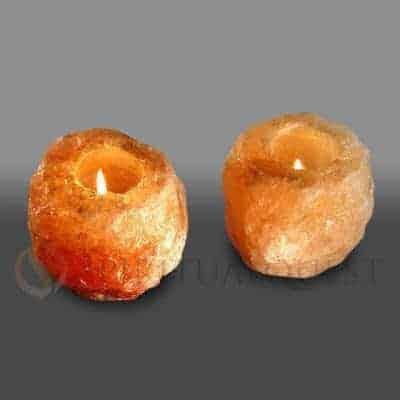 Hand Carved Himalayan Pyramid Salt Lamp - Spiritual Quest