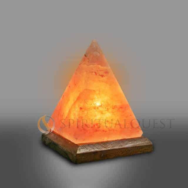 Salt Lamp Pyramid