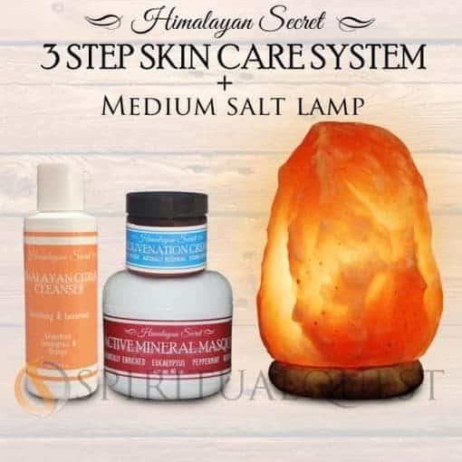 Himalayan Essence 3 step system and  Medium Lamp !