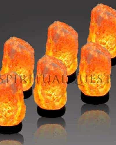 "Small Himalayan Salt Lamp (4-5 lbs) 6""-7"" tall"