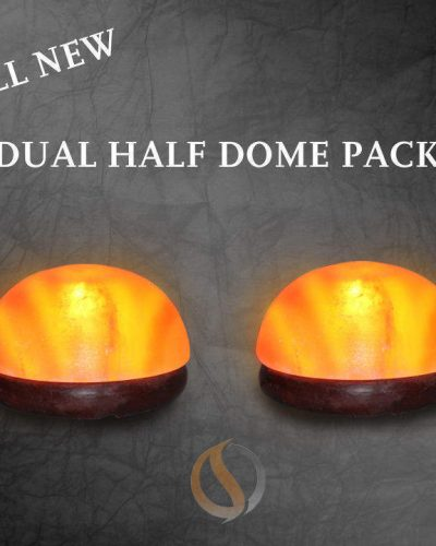 Salt Lamp Detox 12-14 lbs  -   Half Dome Salt Lamp Wholesale