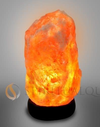 """Super Nova Himalayan Salt Lamp 5-7"""" tall 4 -5 lbs"""