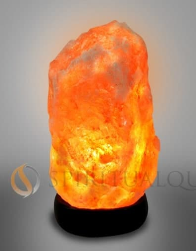 "Super Nova Himalayan Salt Lamp 5-7"" tall 4 -5 lbs"