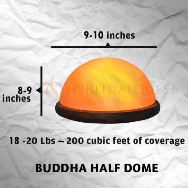 Buddha Half Dome Foot Detox Lamp (massive 15-20 lbs)