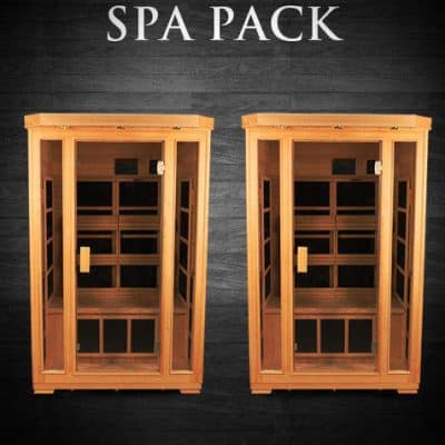 Spa Pack - Two Duet Salt Caves