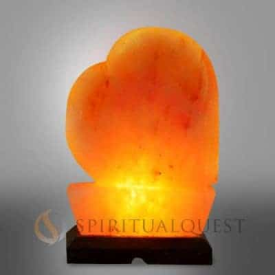 Salt Lamps Spiritual : Hand Carved Himalayan Pyramid Salt Lamp - Spiritual Quest