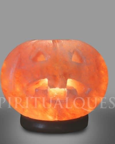 Pumpkin Salt Lamp - Pumpkin HimalayanSalt Lamps  6-7 lbs.
