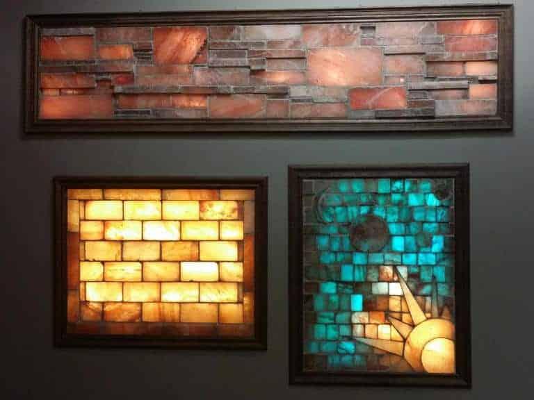 Brick wall lighting Gallery Himalayan Salt Brick Wall With Frame Lighting Kit 4041 Bricks Dhgatecom Himalayan Salt Brick Wall With Frame Lighting Kit 4041 Bricks