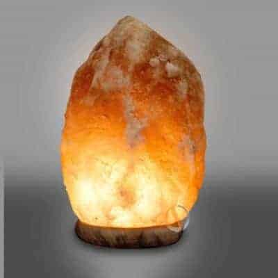 Hand Carved Himalayan Pyramid Salt Lamp - Spiritual Quest