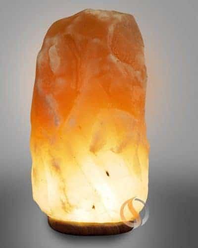 Salt Lamp Himalayan 35-40 lbs Glacier