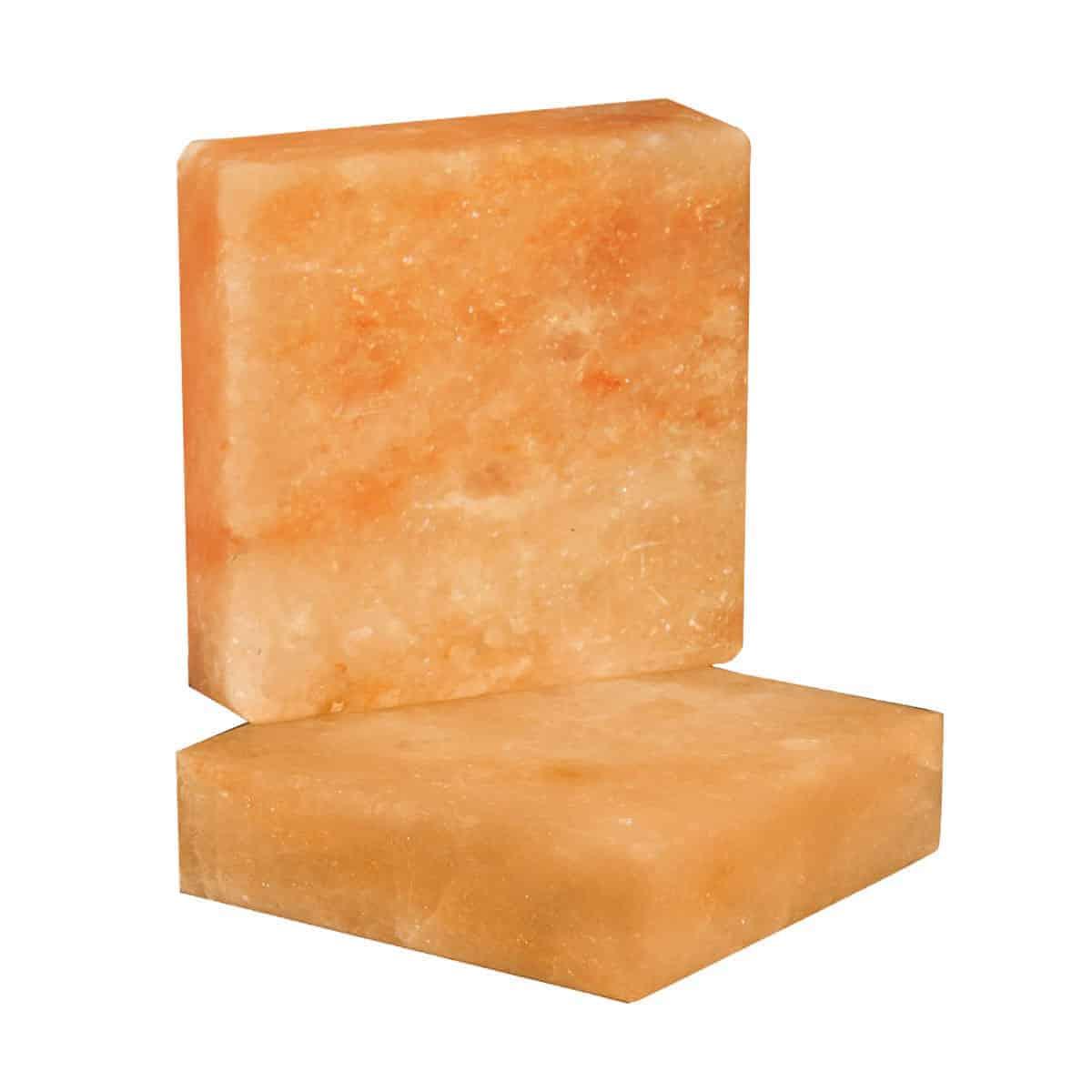 """8"""" x 8"""" x 1.5"""" Pink Himalayan Salt Bricks"""