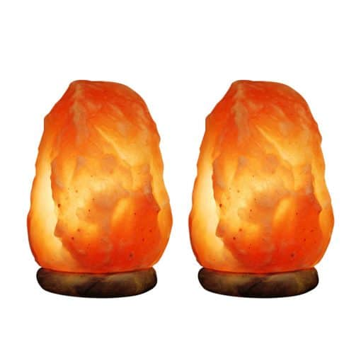 2 medium salt lamp Himalayan salt lamps 2