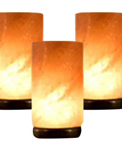 3 salt lamp pllars himalayan salt
