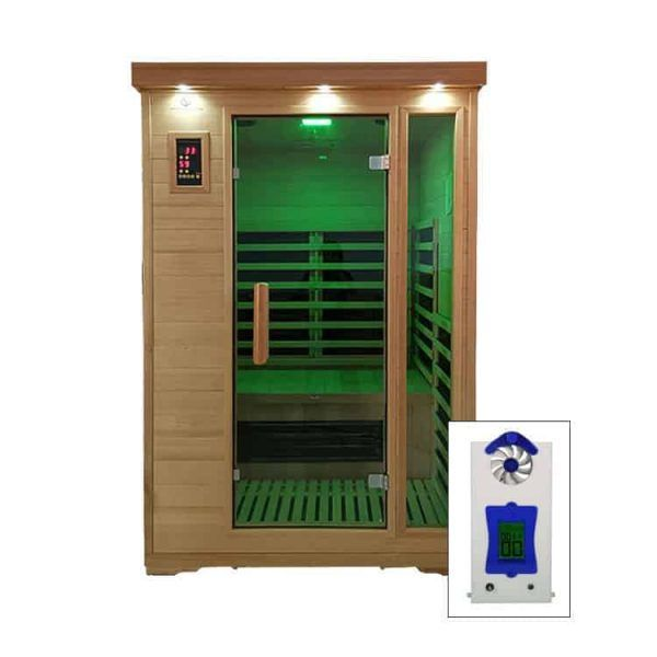 Two Person Salt Room Cabin with Power Halogenerator