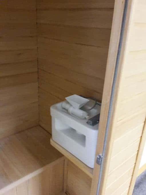 Salt Cabin with Halogenerator - Himalayan Salt Therapy