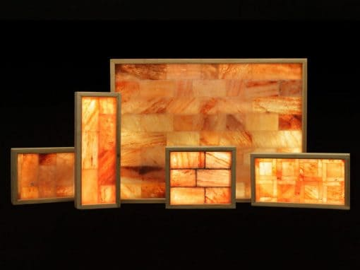 Huge Salt Wall 3'x4' - Plug and Play Design -  Full Spectrum LED