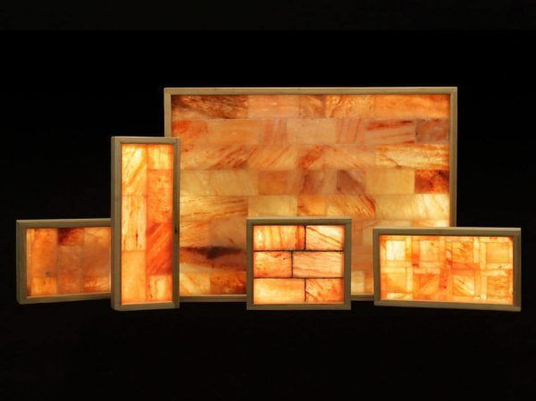 3′ x 4′ Horizontal Salt Wall With LED Backlighting