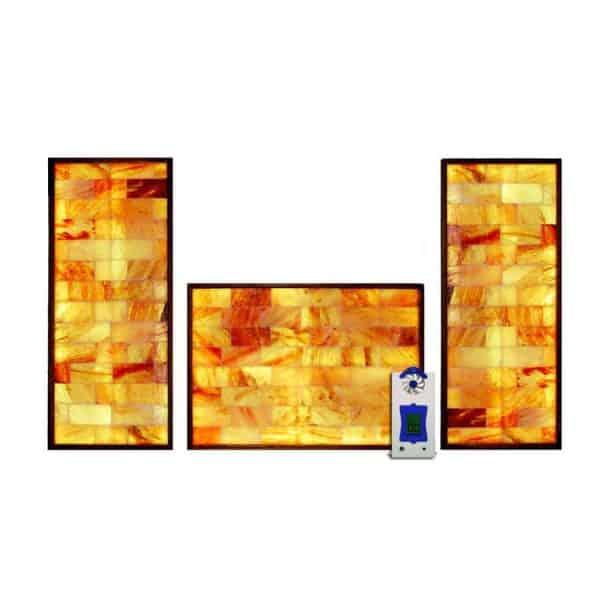3 Piece Salt Wall System with HaloGenerator